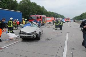 Verkehrsunfall A5