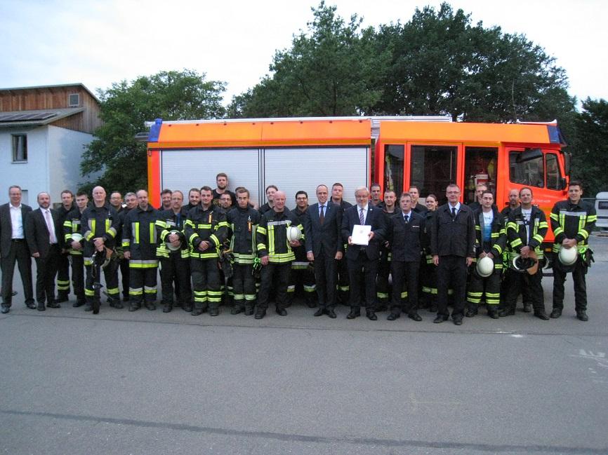 News Feuerwehr Walldorf
