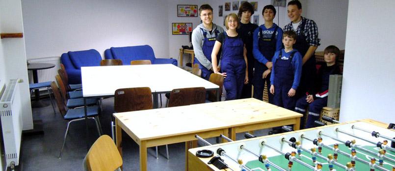 Jugendfeuerwehr-Jugendraum